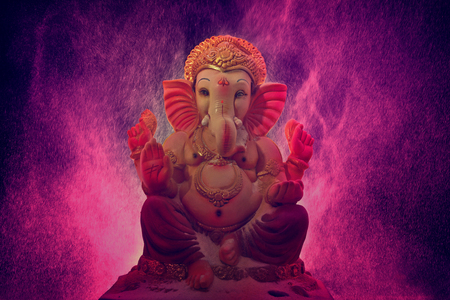 Lord Ganesha , Ganesha Festival Stock Photo