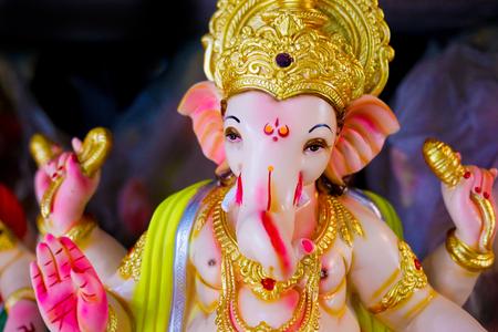 Lord Ganesha , Ganesha Festival Stock fotó
