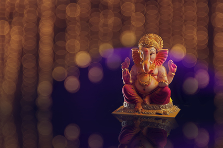 Lord Ganesha , Ganesha Festival Stock Photo