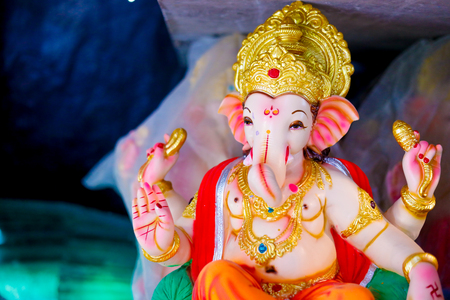 Lord Ganesha , Ganesha Festival Stockfoto
