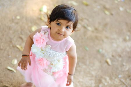 cute Indian baby girl