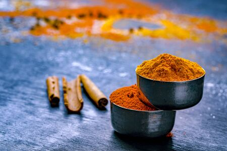 all indian spices , cooking background