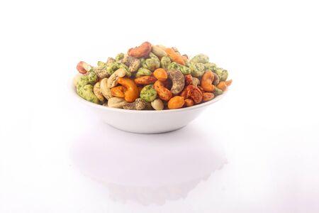 Cashew nut in bowl Foto de archivo