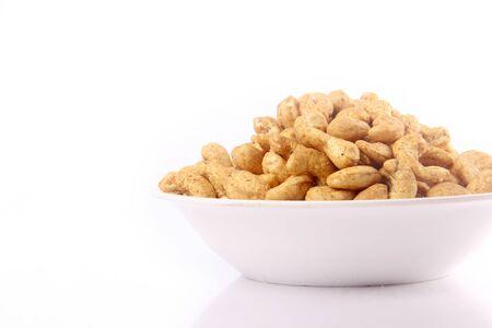 Cashew nut in bowl