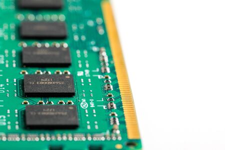 Ddr ram memory isolated on white background 스톡 콘텐츠 - 129413266