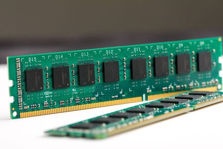 Ddr ram memory isolated on white background 스톡 콘텐츠 - 129414106