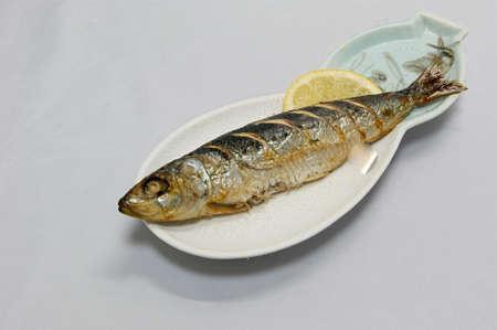 sardines: Grilled sardines Stock Photo