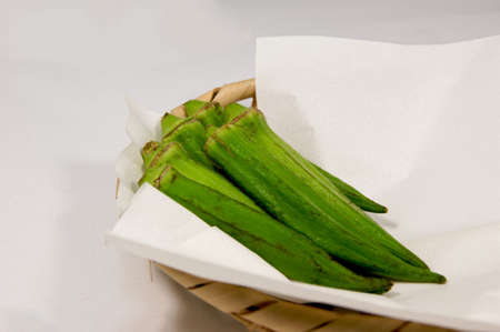 gunk: Japanese food materials okra