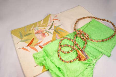 tender: Kimono belt and g and tender
