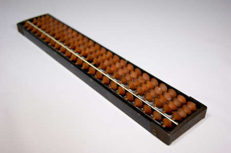 mental activity: Abacus calculator Japan from old long used now