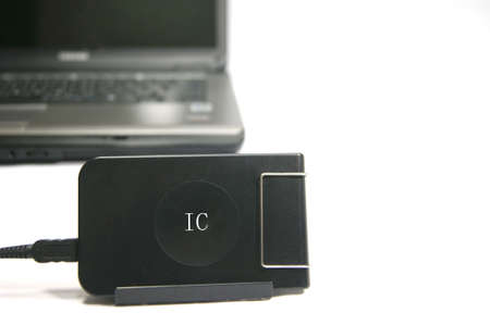epayment: IC card reader Stock Photo