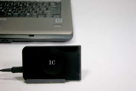 Ic: IC card reader Stock Photo