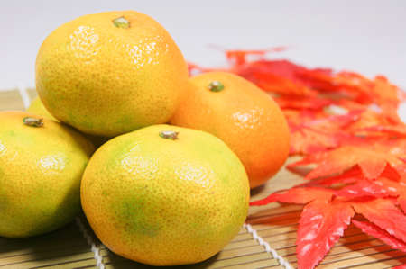 have on: Early-maturing oranges have a good