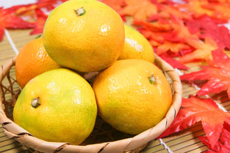 to have: Early-maturing oranges have a good