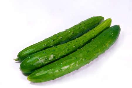 cucumbers: Three cucumbers