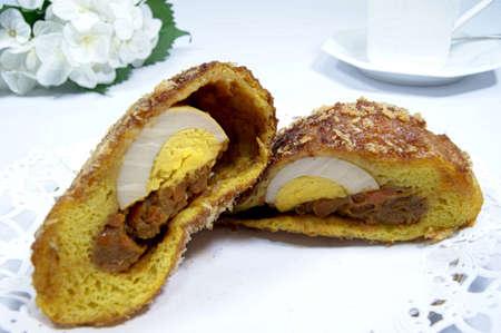 hard boiled: Caricaricaraipan with hard boiled eggs