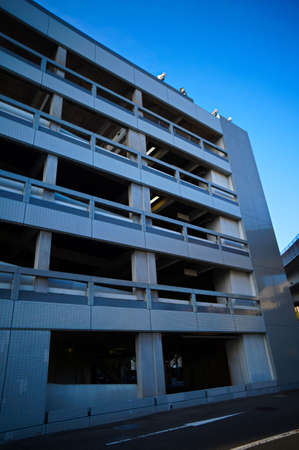 protein structure: Multi-storey car park