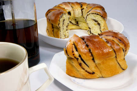 topped: Sweet bread topped sugar