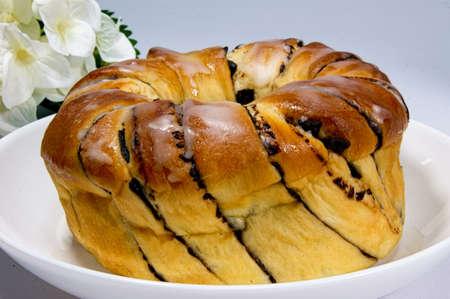 homemade bread: Homemade bread topped sugar