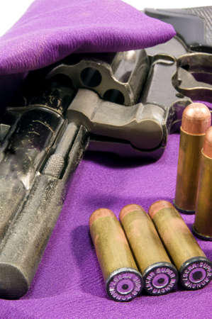 culprit: Pistol and bullets