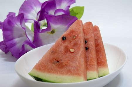 Japan production of watermelon Stock Photo