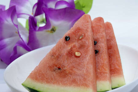 coolness: Japan production of watermelon Stock Photo
