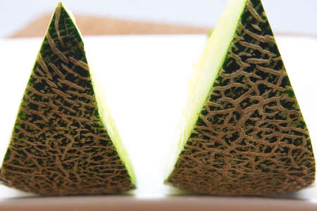 sarcoma: Andes melons of Japan production Stock Photo