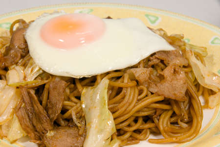 style: Japanese style fried noodles