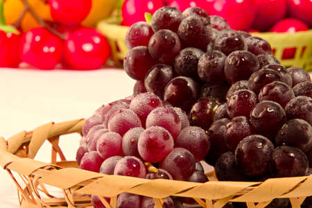 Delaware grapes from Japan
