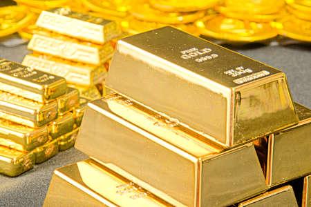 A large amount of gold Banco de Imagens - 92771680