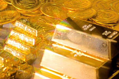 Eine große Menge Gold Standard-Bild - 92771686