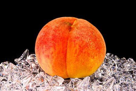 White peaches from Japan Standard-Bild