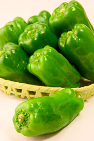 Green Pepper Standard-Bild - 110116856