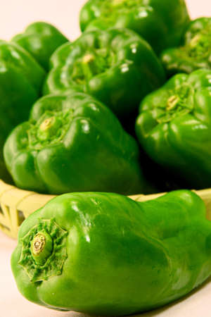 Green Pepper Standard-Bild - 110116857