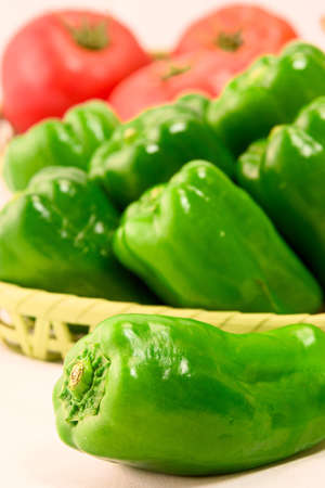 Green Pepper Standard-Bild - 110116858