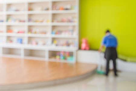 Nettoyeur de bureau, Motion Blur
