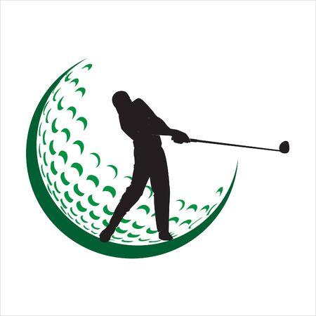 Golf Logo Designs Concept Vector Silhouette Of Golf Logo Designs Royalty Free Cliparts Vectors And Stock Illustration Image 145682329