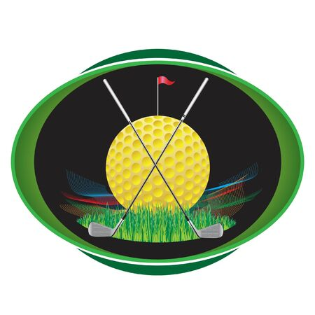 Symbols for use in golf competitions and golf courses.
