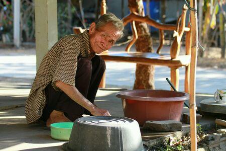 man: Old man thai