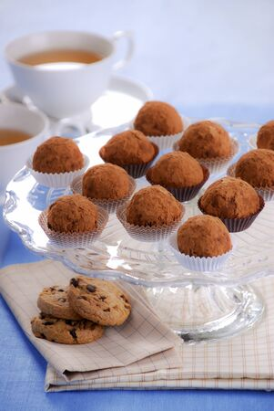 Choc ball and cookie chocolates chips