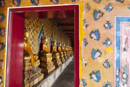 Buddha statue in a Buddhist temple