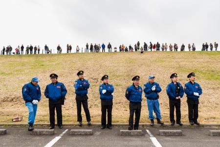 神奈川県 - 不明の人が 1 月 5 日、消防士ワス新年のショー