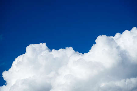Sky clouds, Blue sky with white clouds