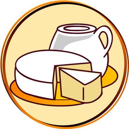 pict - dairy - cheese, milk, etc