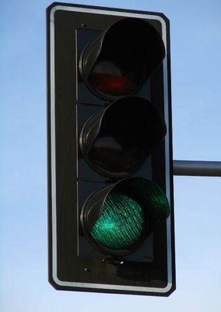 gridlock: traffic green light