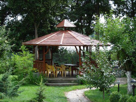 tuinhuis: Summer-huis in de tuin