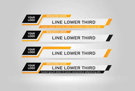 News Lower Thirds Pack