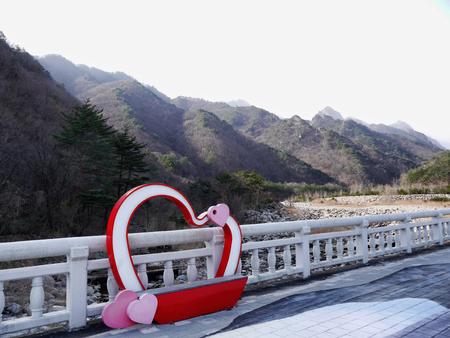 Beautiful mountains Soeraksan National Park in South Korea