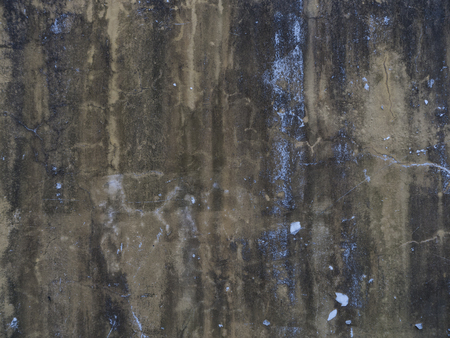Old beton wall as a background texture wit brown and blue color Foto de archivo - 108226075