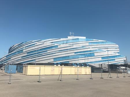 SochiRussia - August 2019: «Shayba» Arena in Olympic Park Redakční